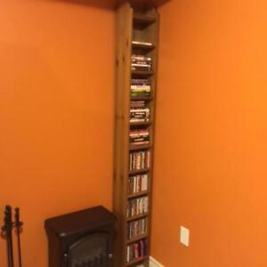 CD/ DVD Wooden Bookcase