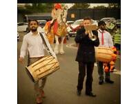 Dhol Players Making Your Day Special