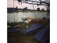 2 Berth Boat, River Cruiser with Out board for Sale