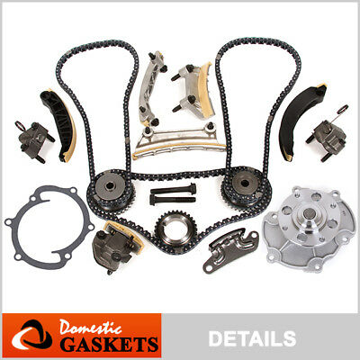 07-15 Cadillac Buick Chevrolet GMC Pontiac 3.6L 3.0L Timing Chain Kit Water Pump