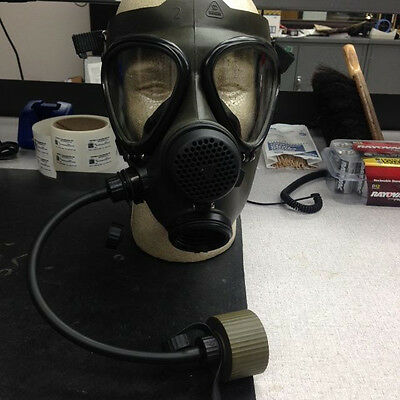 Drager Kareta Gas Mask Green With Drink Tube R51372