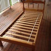 Solid Pine Single Bed Frame Holland Park Brisbane South West Preview