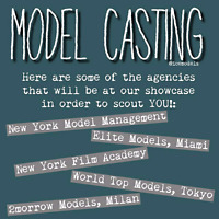 Actors and models /modelling and acting