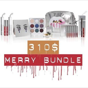 KYLIE JENNER HOLIDAY MERRY BUNDLE- 100% authentic with proof of p Allawah Kogarah Area Preview