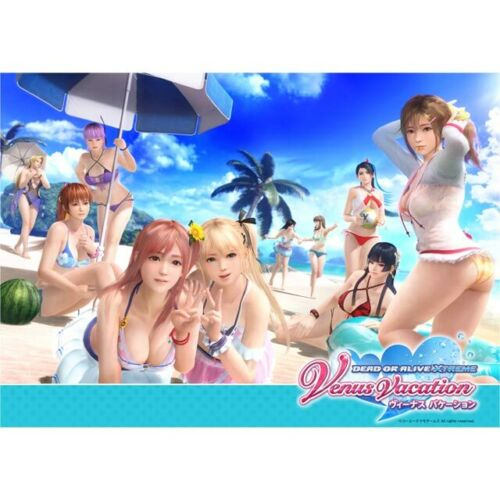 Dead or Alive Xtreme Venus Vacation A3 Ofuro Bathroom Poster Day New