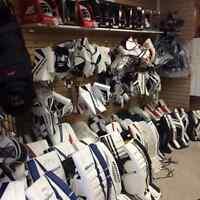 Hockey equipment for pick up hockey!!!@ Rebound!!