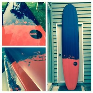 Longboard surfboard in excellent condition