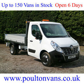 "2015 (15) RENAULT MASTER CCML35 R.W.D 10'9"" ALLOY SIDED TIPPER - 2.3DCI, 125BHP"