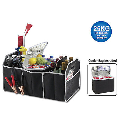 Trunk Cargo Organizer Folding Caddy Storage Collapse Bag Bin for Car Truck SUV #