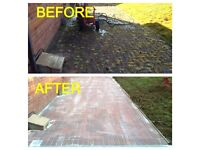 Driveway and Patio Cleaning - 2 Car Drive Cleaned for £95 - Call 07795161893