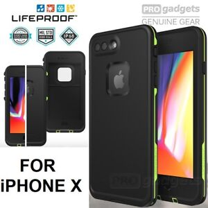 NEW LIFEPROOF FRE SERIES WATERPROOF CASE FOR IPHONE X (BLACK)
