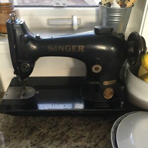 Singer Industrial Sewing Machine With Motor and table expandable