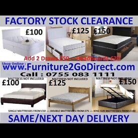 A1 range of new bed frame and mattress