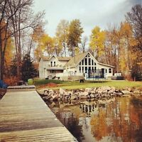 Beautiful Waterfront Cabin for Rent