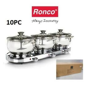 Ronco 3 pot Set ** must sell **