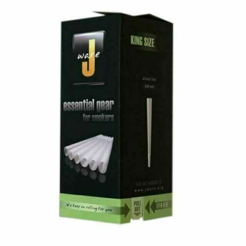 JWare Pre-Rolled KING Size Cones  Rolling Paper Size 109mm L