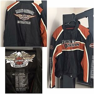 4XL Genuine Harley Davidson Leather Jacket Quakers Hill Blacktown Area Preview