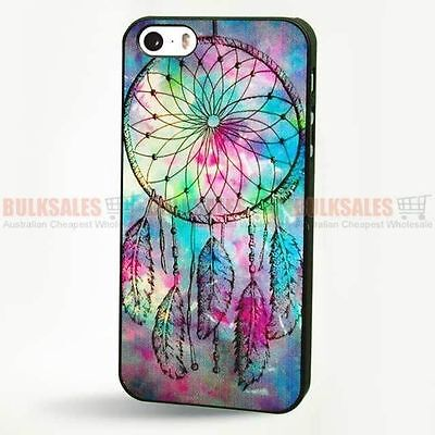 Dream Catcher Blue Printed Case Cover for Apple iPhone 5 5S