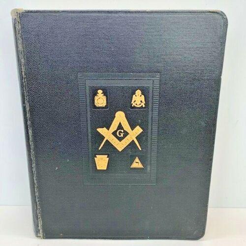 Holy Bible Reference Dictionary Index, A.J. Holman Company, 1949 Masonic Edition
