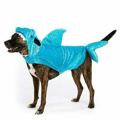 Shark Halloween Dog Pet Costume Medium (New with Tags) (Dog Shark Halloween Costume)
