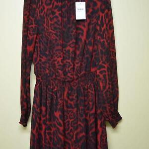 MICHAEL KORS NEW MEDIUM RED DRESS
