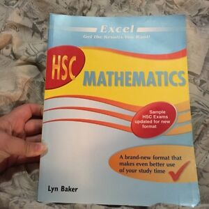 Excel HSC Mathematics Textbook Meadowbank Ryde Area Preview
