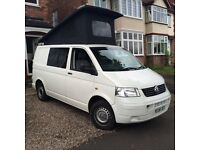 Vw T5 brand new pop top convertion