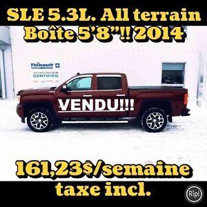 """2014 GMC SIERRA 1500 4WD CREW CAB ALL TERRAIN BOÎTE 5'8"""""""