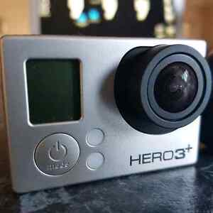 GOPRO HERO 3+ BLACK WITH ACCESSORIES Cairnlea Brimbank Area Preview