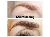 Microblading £80, Semi permanent makeup eyebrows £90, individual eyelashes £40, fat freezing £50