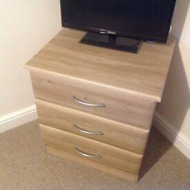 FOUR CHESTS OF DRAWERS