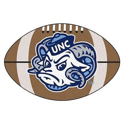 """FanMats UNC North Carolina - Chapel Hill Football Rug 22""""x35"""", 2400"""
