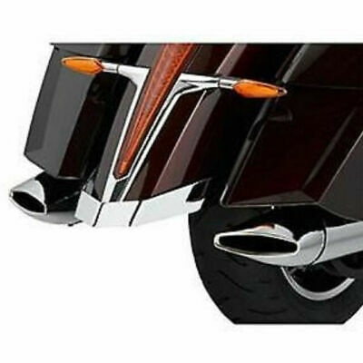 Victory Rear Chrome Fender Protector Rail Protector Cross Country 2877575