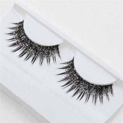 Fake Eyelashes Fake Diamond With Rhinestone Bling Crystal glitter Designs - Eyelashes With Rhinestones