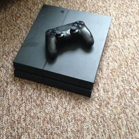 Excellent condition Playstation 4 (PS4) with one controller and all cables (and Fifa 16)