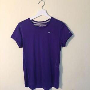 Nike Dri-fit Active Wear Shirt Purple M Northcote Darebin Area Preview