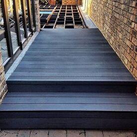 Composite Decking Sale 10% off for January (wood-plastic composite garrden decking - Glasgow)