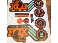 Fox 34 Heritage Decals!!
