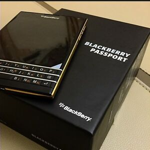 Black Blackberry Passport for sale