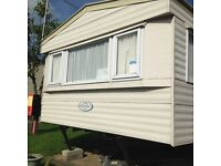 2007 Delta Primero static caravan. 35' x 12', sleeps 6. excellent condition