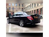 MERCEDES-BENZ C 320 SPORTS CDI AMG 7 speed auto sat nav