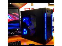 FAST Dual Core 4.1Ghz 8GB 500GB HDD Desktop Gaming PC Computer FREE SAMEDAY DELIVERY MINECRAFT CSGO