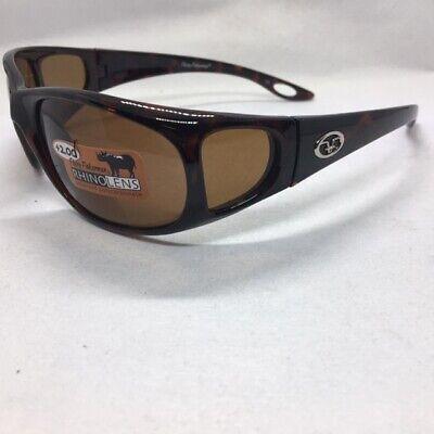 1.50 Ugly Fish Polarised Sunglasses Swift PN3077 Black//Smoke Bifocal Lens