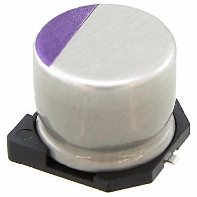 Sanyo 10svp120m Poly Aluminum Capacitor 120uf 20 10v Smd New Lot Quantity-10