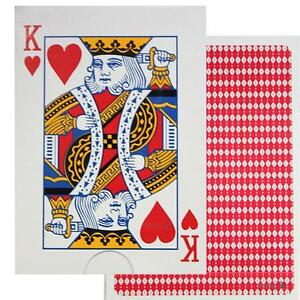 2 x Standard Playing Cards Deck Pack - Drinking Games Blackjack Solitare Poker