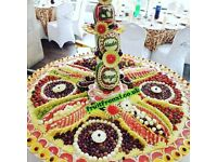 Fruit displays, Fruit bouquets, Fruit platters, Custom made carvings for any occasion.