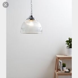 2 x Contemporary Light Fittings