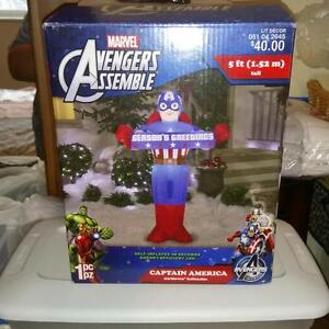 MINT CONDITION CAPTAIN AMERICA Inflatable