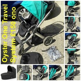 Oyster One Pushchair Travel System