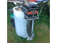 Johnson 10hp short shaft outboard